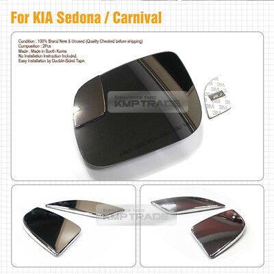 K3 Curved Blindspot Side Mirror Glass 2p 1Set For 2013 2014 Kia Forte