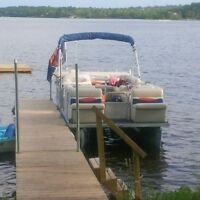 Completely refurbished Pontoon boat!!!