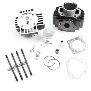 NEW YAMAHA PW 50 PW50 TOP END CYLINDER KIT WITH HEAD