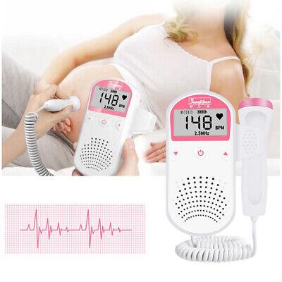 2.5 Mhz Probeprenatal Fetal Doppler Baby Heartbeat Monitor Ultrasonic Detector