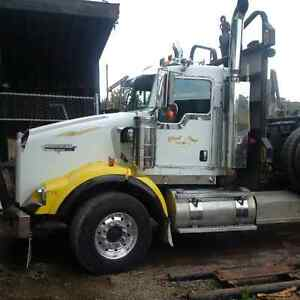 2007 kenworth with 03 peerless long short covertible rigging