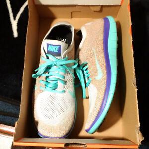 Nike Men's Free 4.0 FlyKnit ID Running shoes Size 12