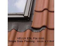 VELUX GGL FK06 2070 White Centre Pivot Window Laminated - 66cm x 118cm