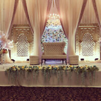 Daffodil Wedding , Sangeet and Reception Decor