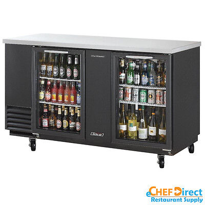 Turbo Air Tbb-3sg-n 69 Double Glass Door Back Bar Cooler