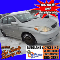 2003 Toyota Matrix Xr Hatchback Runs well New MVI $2395 Bedford Halifax Preview