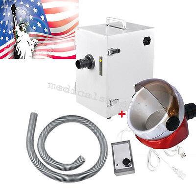 Dental Digital Industrysingle Row Dust Collector Vacuum Cleaner Suction Base