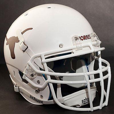 *CUSTOM* TEXAS LONGHORNSNCAA Schutt XP GAMEDAY Replica Football Helmet