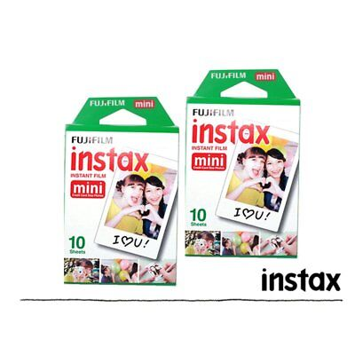 Fujifilm Instax White 20 Film For Fuji Mini 8 Plus 90 25 7s 70 Camera SP-1 US