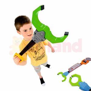 CLAW ROBOT MECHANICAL GRABBER TOY KIDS BOYS GIRLS RETRO ROBOTIC ARM HAND PINCHER