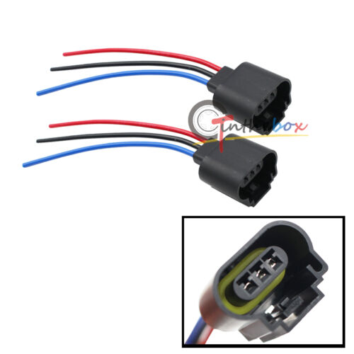 [DIAGRAM_0HG]  H13 9008 3-Wire Socket Female Adapter Wiring Harness Pigtail Plug for  Headlight | eBay | 3 Wire Wiring Harness |  | eBay