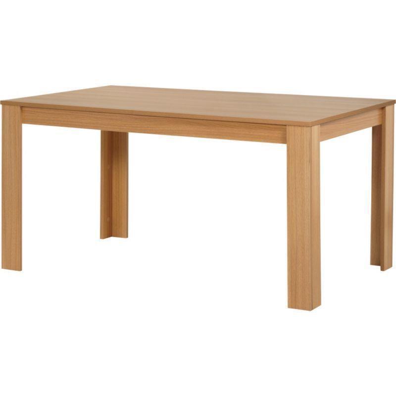 New Oak Effect Dining Table 163 20 In Kingstanding West