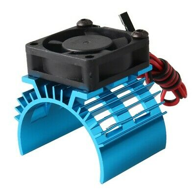 Car Parts - 1:10 RC Parts Electric Car Motor Heat Sink Cover+Cooling Fan for RC Heat Sink
