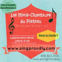 Chorale Les minis-chanteurs du plateau