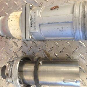 Connecteur Industriel HD/600V/ 60A ( Male et Femelle) type Droit