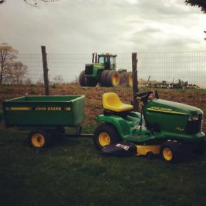 2000 John Deere LT155 Lawn Tractor