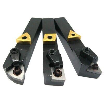 3pcs 58 Inch Lathe Excircle Indexable Carbide Turning Tool Holder Set Withm6x9