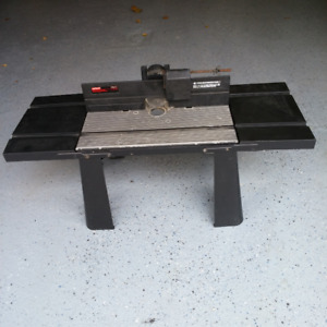 CRAFTSMAN DELUXE ROUTER TABLE WITH EXTENTI0NS