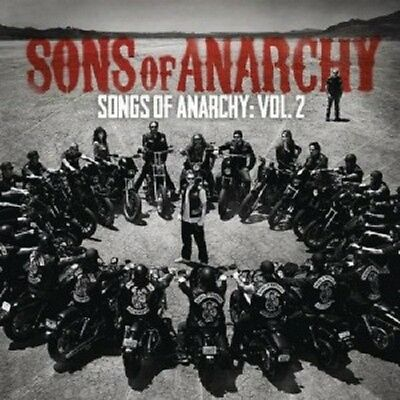 Sons Of Anarchy  Television Soundtrack    Songs Of Anarchy  Vol 2  Cd New