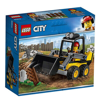 Lego City Ruspa da Cantiere 60219 Great Vehicles Escavatore Veicoli Mattoncini
