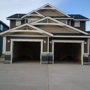 Brand New and Beautiful Duplex in Bayside Airdrie SW