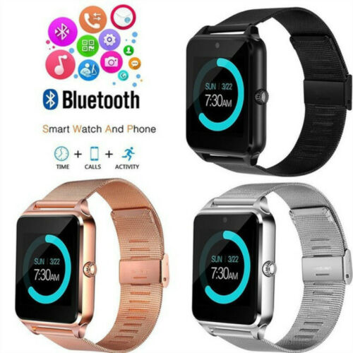 Smartwatch Samsung iPhone Bluetooth Handy Armbanduhr SIM Kamera für Android iOS