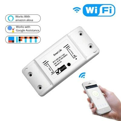 Smart Light Switch Wireless DIY APP Remote Control Work Alexa Google Home Device