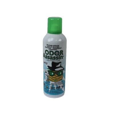 Odor Assassin Odor Eliminator Juicy Tropical Scent, 6 oz Can