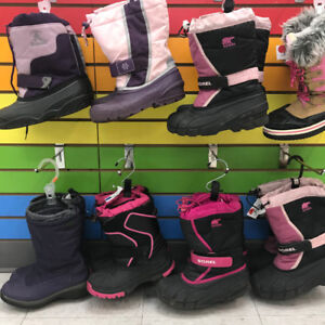 Girls' winter boots size 3