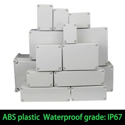 Waterproof Abs Electronic Project Box Enclosure Plastic Case Junction Box Ip67