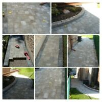 Interlocking Brick & Paver Stone walkways & Patio's