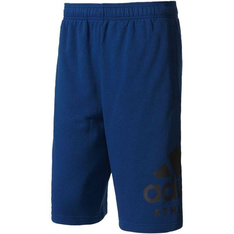 ADIDAS Short Pantalone Corto Tuta PANTALONCINO SHORTS Blu Nero UOMO BQ3318