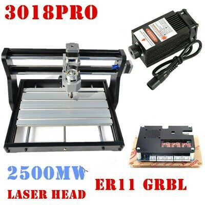 Cnc 3018 Diy Cnc Laser Engraving 2.5w Carving Pcb Wood Milling Cutting Machine