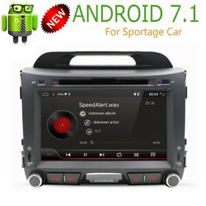 "8"" Android 7.1 OS GPS Capacitive Touchscreen Head Unit in Dash V"