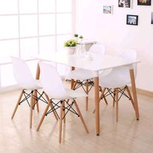 Factory direct to public brand new morden dining set