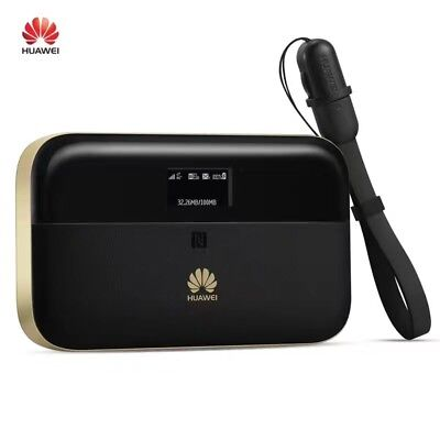Unlocked Huawei E5885 Mobile WiFi Pro2 4G LTE FDD/TD 300Mbps Hotspot Power Bank