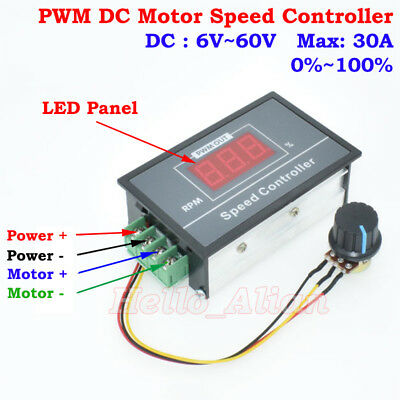 Pwm led owner 39 s guide to business and industrial equipment for Digital dc motor speed control