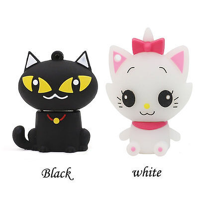 Cartoon Cat model USB 2.0/3.0 Memory Stick Flash pen Drive 8GB-64GB AP21