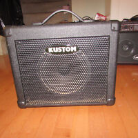 Excellent Condition KBA16 Kustom Bass Amp 16W for Bass Guitar