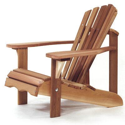Cedar Child Adirondack Chair Perfect Miniature of Adult Chai