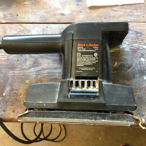 Black & Decker Finishing Sander