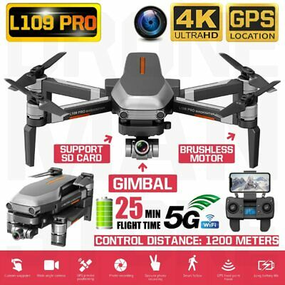 L109 Pro 2-Axis Gimba 4K Ultra HD Camera GPS Brushless Motor 5G WIFI FPV Drone