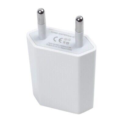Blanco UE Cargador USB Adaptador AC para iPhone 5 5S 4S 4...