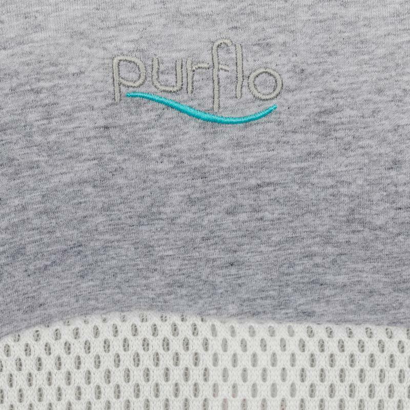 Purflo Purair Breathable Nest Cover / Pillow Case - Marl Grey