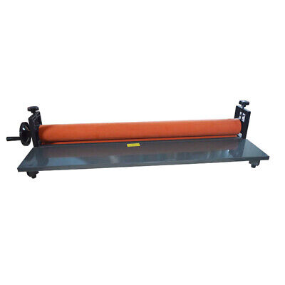 Cold Laminator Manual Roll Vinyl Photo Film Laminating Machine 39 Office Equip