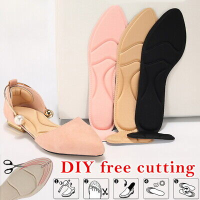 2pcs Self-Adhesive High Heel Pad Grip Shoe Cushion Insole In