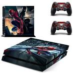 7 Sticker skin wrap ps4 stickers playstation 4 + 2x controll