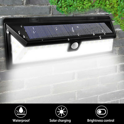Kingso 54-LED Solar Power Light Motion Sensor Outdoor Security Lamp Garden
