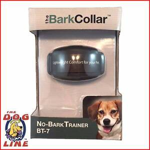 Rechargeable Dog Collar - DogWatch Bark Collar BT-7 No Bark Train Perth Region Preview