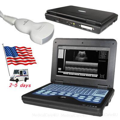 Contec Portable Ultrasound Scanner With 3.5mhz Convex Probe Laptop Machineusa